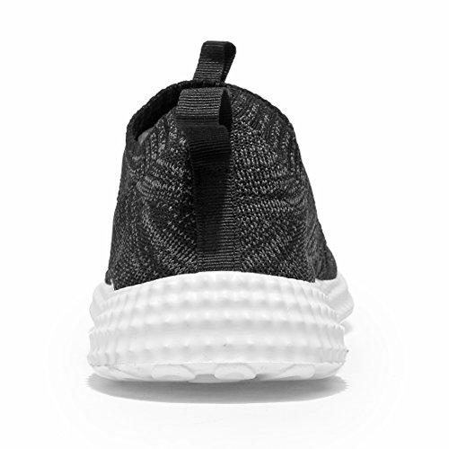Kaleido Uomo Sneakers Palestra Leggera Sneaker Fitness Sneakers Running F-black
