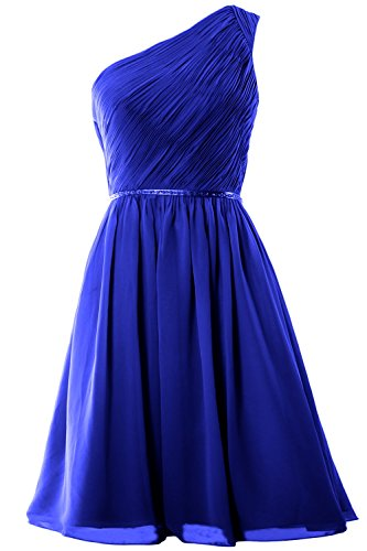 MACloth - Robe - Trapèze - Sans Manche - Femme Bleu - Bleu marine