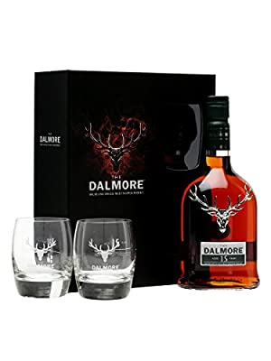 Dalmore 15 Year Old with Glass Gift Set