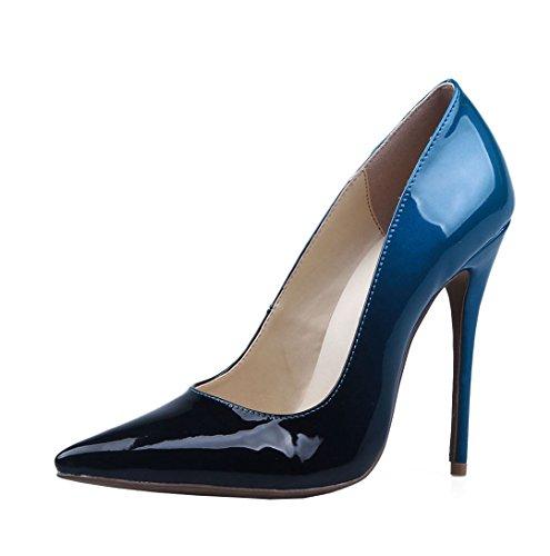 TDA - Sandali con Zeppa donna Black-Blue