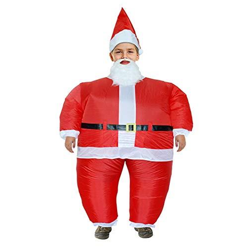 I-JUN Santa Kostüm Lustige Fat Man Overall Aufblasbare -
