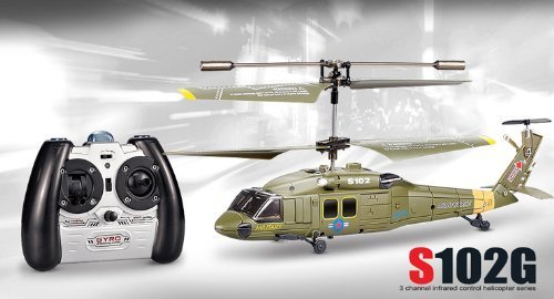 Syma S102G 3CH RC Helicopter With Gyroscope Remote Control Helicopter