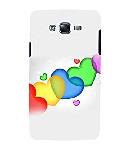 printtech Colored Heart Love Abstract Back Case Cover for Samsung Galaxy Grand Prime G530h