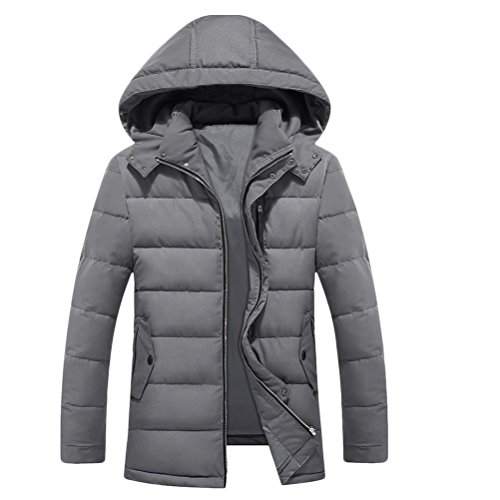 Zhhlinyuan Mens Herren Father's Teenagers Winter Thicken Long Sleeve Warm Padded Jacket Jacke Windbreaker Halloween Gift Big Tall Kingsize 9XL (Jacke Tall And Kingsize-mens Big)
