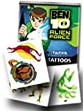 Ben 10 Alien Force Temporary Tattoos (tatuajes temporales)