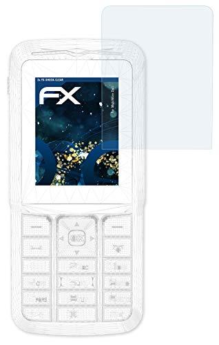 atFolix Schutzfolie kompatibel mit MobiWire Doli Panzerfolie, ultraklare & stoßdämpfende FX Folie (3X)