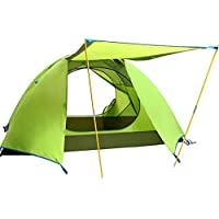 Neue Outdoor-Camping-Ultraleicht-Aluminiumpfosten Doppelstock Outdoor-Camping-Zelt regen