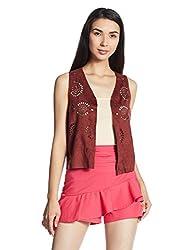 Vero Moda Womens Blouson Coat (10162762_Fired Brick_XL)