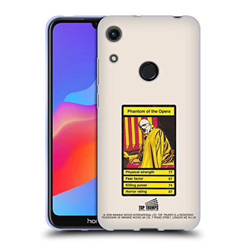 Head Case Designs Offizielle Top Trumps Phantom Der Oper Horror Retro 2 Soft Gel Hülle für Huawei Honor - Phantom Oper-zubehör Der