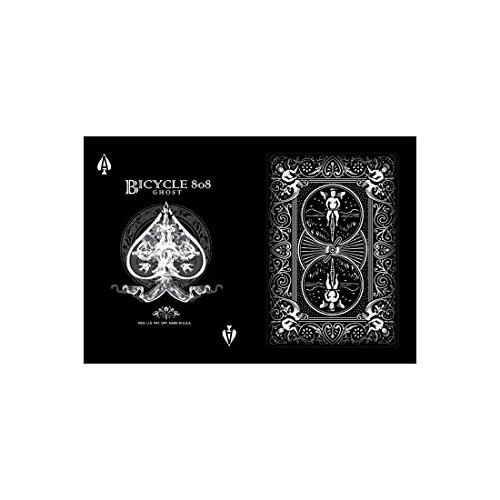 Bicycle Black Ghost Spielkarten (2. Auflage, Pokergröße)