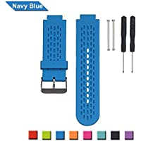 Watchband for Garmin Approach S2 /S4 GPS Golf Watch, Bemodst® Garmin Generic Replacement Silicon Air Holes Smartwatch Strap Band Sports Accessory Wristband Bracelet with Original Screw and Disassembling Tool