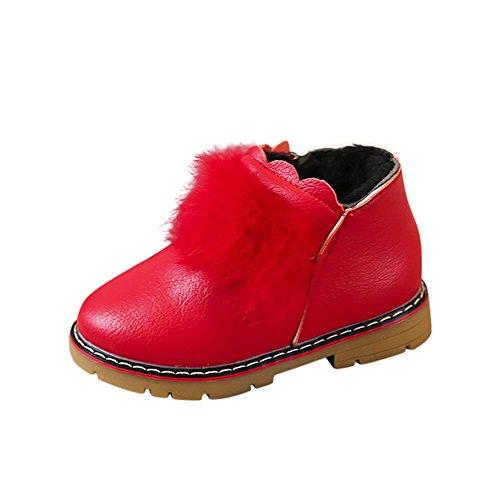 bdf299a28dbc Chaussures Bébé Binggong Hildren Chaud Garçons Filles Enfants Bébé  Occasionnel Chaussures Casual Martin Sneaker Boots
