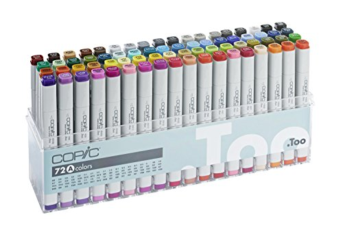 Copic Marker - Set A - 72er Set