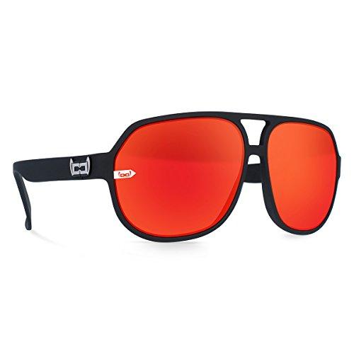 gloryfy unbreakable eyewear Sonnenbrille Gi21 Dante red, scharz