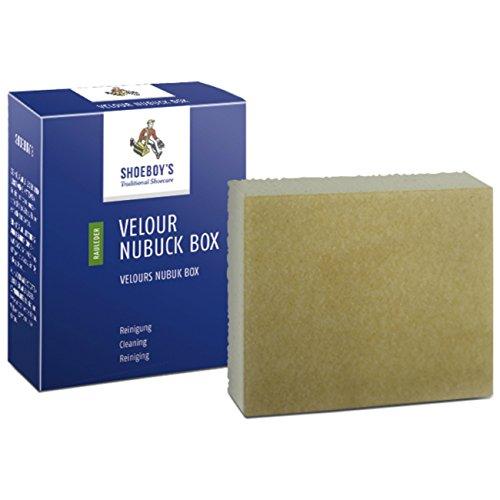 Shoeboy's Velour Nubuck Box - Reinigungsgummi für unterschiedliche Rauleder, 1er Pack (1 x 1 Stück)