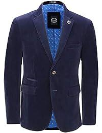 Xposed Mens Soft Corduroy Blazer Coat Vintage Retro Tailored Suit Jacket or  Waistcoat d14711ca36857