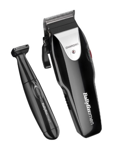 BaByliss For Men 7497CU Turbo Power Pro Grooming Kit - 41SxEblapoL - BaByliss For Men 7497CU Turbo Power Pro Grooming Kit