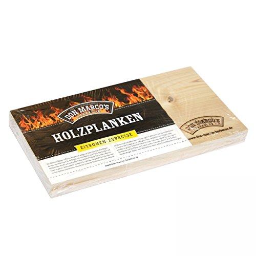 Preisvergleich Produktbild Don Marco´s Holzplanke Zitronen Zypresse 2 Stück