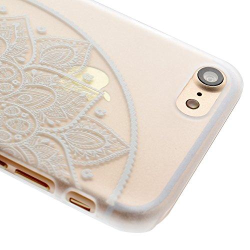 Voguecase® Pour Apple iPhone 6 Plus/6S Plus 5.5, TPU avec Absorption de Choc, Etui Silicone Souple Transparente, Légère / Ajustement Parfait Coque Shell Housse Cover pour Apple iPhone 6 Plus/6S Plus 5 creuse 04 droite