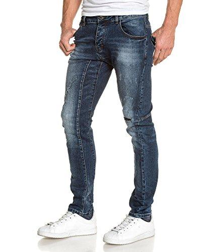 BLZ jeans - Faded Blue Jeans Herrenmode Blau