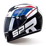 Männer Frauen Moto Motorrad Helm Entfernen Schutz Horn Blendend Full Coverd Helme Motocross Schutzkappe 3 Arten von Linsen