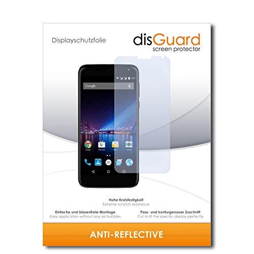 disGuard® Bildschirmschutzfolie [Anti-Reflex] kompatibel mit Phicomm Energy 3+ [2 Stück] Entspiegelnd, Matt, Antireflektierend, Extrem Kratzfest, Anti-Fingerabdruck - Panzerglas Folie, Schutzfolie