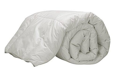 Pikolin Home - edredón de plumón de oca 92%, funda 100% algodón , 240 x 220 cm, cama 150/160
