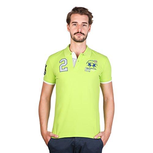 la-martina-herren-polo-shirt-mit-verschiedenen-logos-kurzarmlig-xl-limettengrun