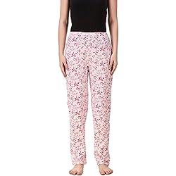 Masha Women's Cotton Printed Multicolor Pyjama