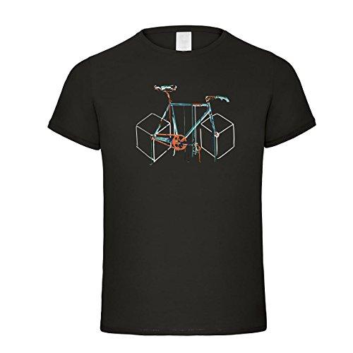 Fahrrad Abstrakt | Fun Shirt | Fahrrad T-Shirt | Design
