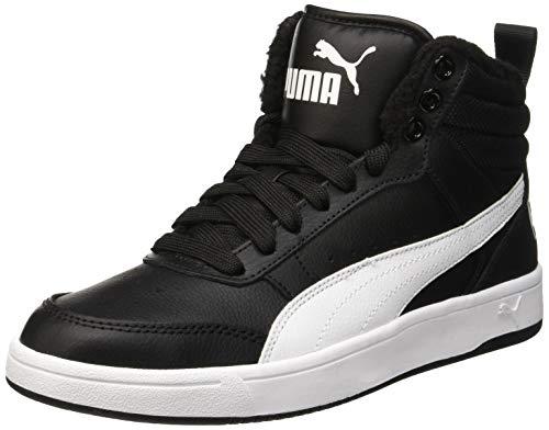 Puma Unisex-Erwachsene Rebound Street V2 FUR Hohe Sneaker, Schwarz Black White 05, 42.5 EU