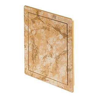 BROWN MARBLE effect,service door, control hatch (DT14MB) by Awenta