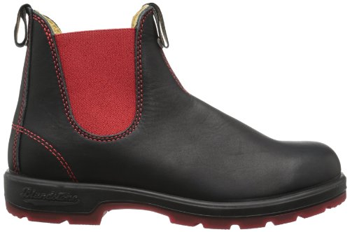 Blundstone Classic, Bottes Chelsea mixte adulte Black/Red