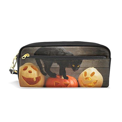 bennigiry Cat Kitty groß Kapazität Bleistift Fall, Kids Kinder Studenten Stift Tasche Tasche für Reisen Schule Kosmetiktasche, klein (Make-up Cat Kids)