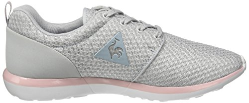 Le Coq Sportif Damen Dynacomf W Feminine Mesh/Metallic Trainer Low Grau (Galet/pale Mauve)