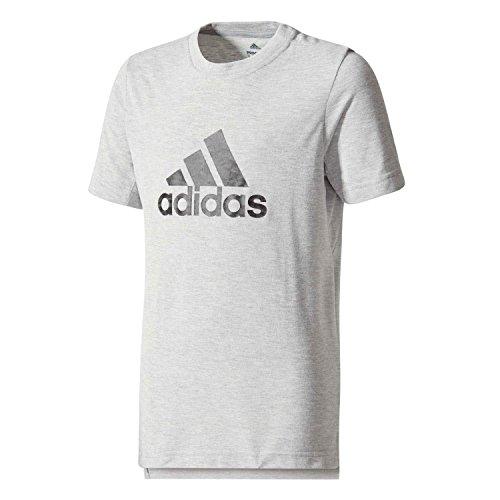 992e9a8ad4f6 adidas Performance Boys Trainingsshirt T-Shirt Prime Logo Tee Grau (13) 140