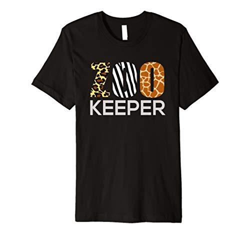 Zoo Keeper Safari T-Shirt Lustiges Geschenk für Tierfreunde Kostüm