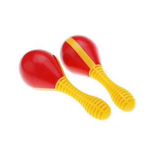 Andoer® Plástico Huevo Maraca Musical Temprana Rhythm Educativo Herramienta de juguete para el bebé del cabrito del niño