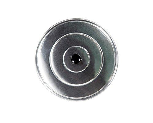 Vello Campos - Universal-Aluminiumdeckel - Deckel für Paellapfannen - 28 cm