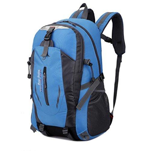 Wmshpeds Busta esterna giovane zaino impermeabile zaino borsa di arrampicata borsa da viaggio C
