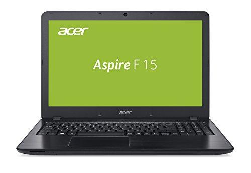 Acer Aspire F 15 39,62 cm (15,6 Zoll Full-HD matt) Notebook (Intel Core i7-7500U, 8GB RAM, 128GB + 1.000GB HDD, GeForce GTX 950M, Win 10 Home) schwarz
