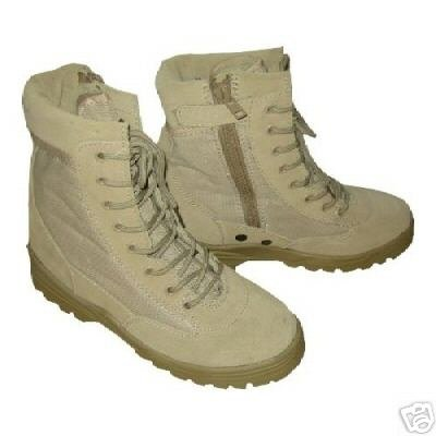 US Army Patriot Desert Storm Combat Boots sand 40 Army Navy Schuhe