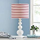 Eeayyygch Kreative Lampe Wohnzimmerlampe Schlafzimmer Nachttischlampe Mode Kinderzimmerlampe (Farbe: Blau) (Farbe : Rot, Größe : -)