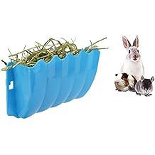 Conejillos de Indias Colgando Alimentador de heno Estante, Conejo Dispensador de Alfalfa sin estetos,