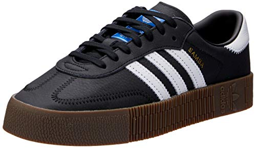 Adidas SAMBAROSE W, Zapatillas de Deporte para Mujer, Negro (Negbás/Ftwbla/Gum5 000), 38 EU