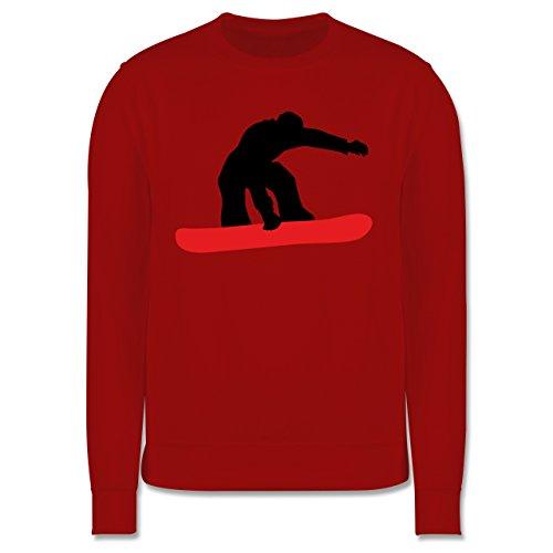 Wintersport - Snowboard Board - Herren Premium Pullover Rot