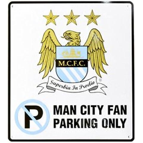 'No Parking' Letrero De Metal Con Diseño De Equipo De Fútbol Oficial (Varios Equipos a elegir.)