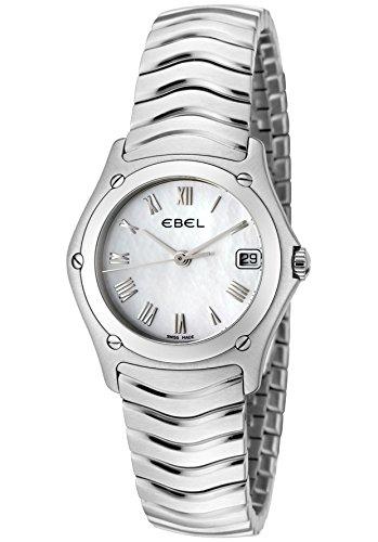 Ebel 9087F21-9225 - Reloj para mujeres, correa de acero inoxidable