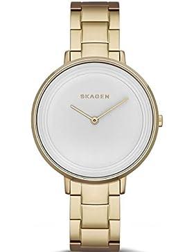 Skagen Damen-Armbanduhr Analog Quarz Edelstahl SKW2330