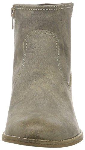 Tamaris25341 - Stivali classici imbottiti a gamba corta Donna Beige (Taupe Nubuc 369)